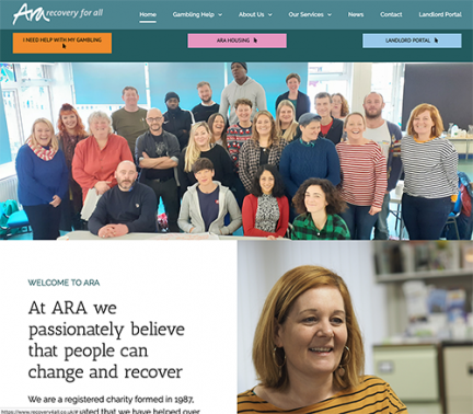 ARA recovery4all Website